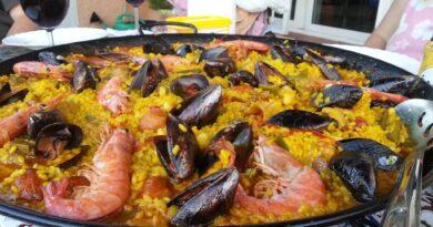 home made paella