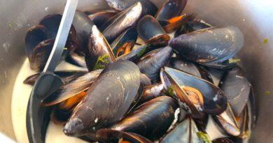 Mussels in Thai sauce