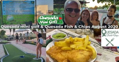 Quesada Fish and Chips and mini golf