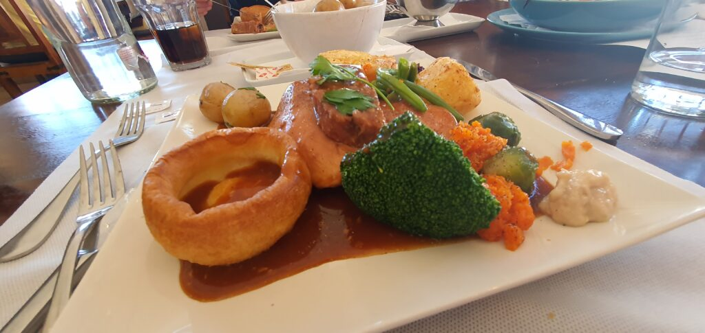 Sunday Lunch at Market Street