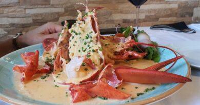 Lobster Diablo, Franks Restaurante