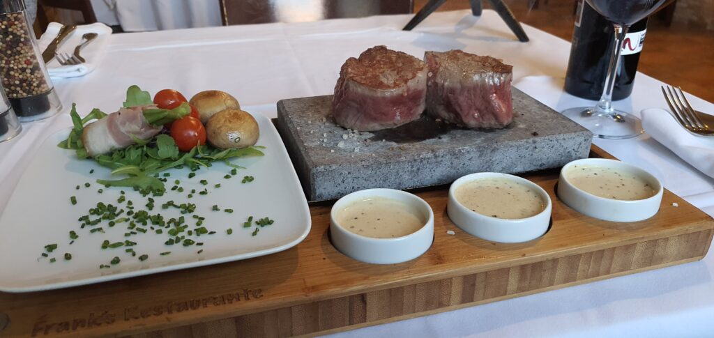 Stone Grill cooked Aberdeen Angus Steak
