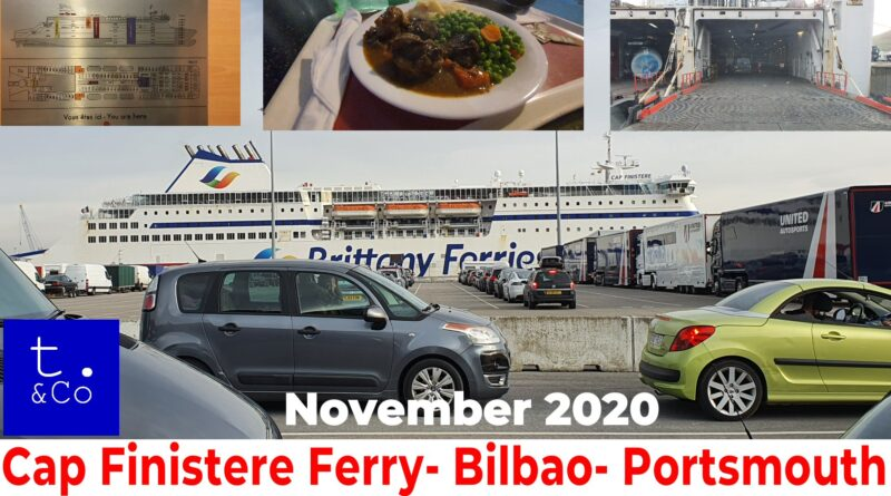 Brittany Ferries- Cap Finistere – Spain to UK