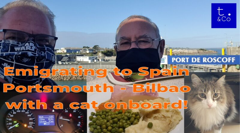 Emigrating to Spain – part 3- Portsmouth to Bilbao with Brittany Ferries