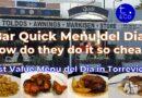 Bar Quick – Menu del Dia